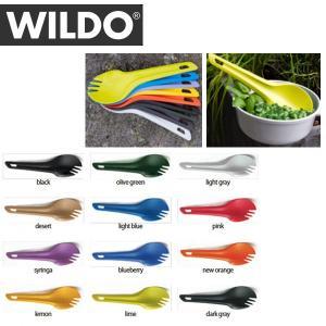 WILDO/ウィルド Spork アウトドア スプーン フォーク ナイフ 日本正規品|snb-shop