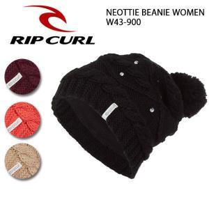 リップカール RIP CURL   ビーニー NEOTTIE BEANIE WOMEN W43-900 【スノー雑貨】【メール便・代引不可】|snb-shop