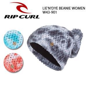 リップカール RIP CURL   ビーニー LIE'N'DYE BEANIE WOMEN W43-901 【スノー雑貨】【メール便・代引不可】|snb-shop