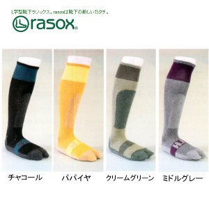 RASOX/ラソックス スポーツソックス HID+RASOX DR WHR002|snb-shop