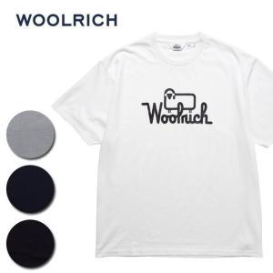 WOOL RICH ウールリッチ C/N ROUND BODY PRINT 1 TEE NOTEE1933 【Tシャツ/トップス/プリント/アウトドア】|snb-shop