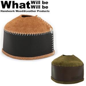 What will be will be ワット ウィル ビー ウィル ビー ガス缶カバー オイルレザー&スウェードODガス缶カバー(中:230/250サイズ) 【BBQ】【CZAK】アウトドア|snb-shop