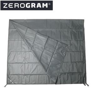 ZEROGRAM ゼログラム PCT UL2 MF 専用フットプリント 【フットプリント/マット/テントシート/アウトドア/キャンプ】 snb-shop