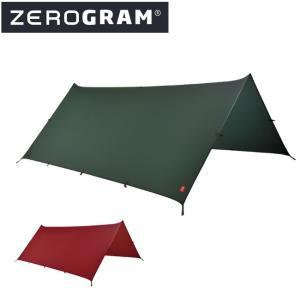 ZEROGRAM ゼログラム Minimalist II Sil-Tarp 【タープ/日よけ/アウトドア/キャンプ】|snb-shop