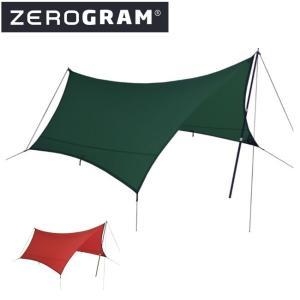 ZEROGRAM ゼログラム Minimalist III Hexa Tarp 【タープ/日よけ/アウトドア/キャンプ】|snb-shop