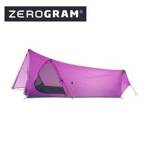 ZEROGRAM ゼログラム ZERO1 MF ORCHID 【テント/キャンプ/アウトドア】|snb-shop
