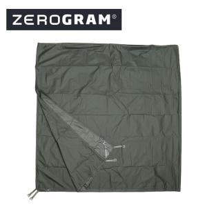 ZEROGRAM ゼログラム INYO TIPI TENT 専用フットプリント 【フットプリント/マット/テントシート/キャンプ/アウトドア】 snb-shop