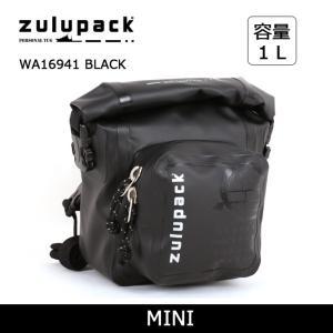zulupack ズールーパック MINI ショルダーバッグ WA16941 BLACK 【カバン】カメラポーチ ウエストバッグ ショルダーバッグ 防水 アウトドア|snb-shop