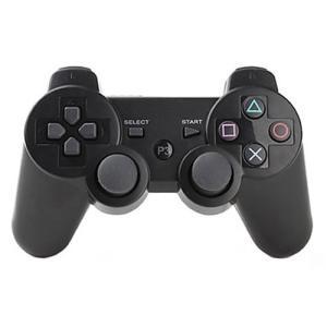 PS3 ワイヤレス コントローラー ケーブル 付き プレステ psp3 ブラック