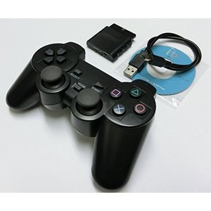 PS2 PS3 PC 用 ワイヤレスコントローラー PlayStation2