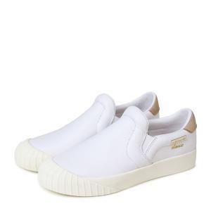 アディダス エブリン adidas Originals レディース スリッポン スニーカー EVERYN SLIPON W CQ2060 ホワイト オリジナルス [4/19 新入荷]|sneak