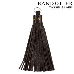 BANDOLIER バンドリヤー iPhone タッセル チャーム アクセサリー キーホルダー TASSEL SILVER メンズ レディース レザー ブラック 11/15 新入荷|sneak