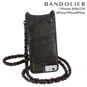 BANDOLIER バンドリヤー iPhone8 iPhone7 7Plus 6s ケース スマホ アイフォン プラス LIBBY PEWTER レザー メンズ レディース ブラック 11/15 新入荷|sneak