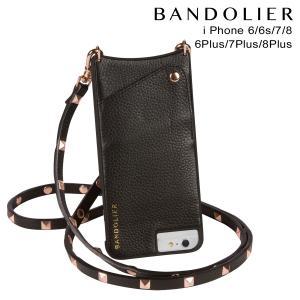 BANDOLIER バンドリヤー iPhone8 iPhone7 7Plus 6s ケース スマホ アイフォン プラス SARAH ROSE GOLD ブラック 11/15 新入荷|sneak