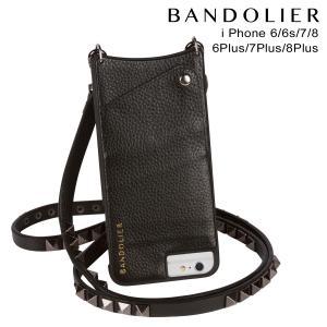 バンドリヤー BANDOLIER iPhone8 iPhone7 7Plus 6s ケース スマホ アイフォン プラス JENNY PEWTER レザー メンズ レディース ブラック 11/15 新入荷|sneak