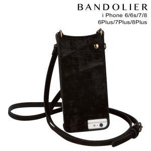 BANDOLIER バンドリヤー iPhone8 iPhone7 7Plus 6s ケース スマホ アイフォン プラス EMMA VELVET ベルベット メンズ レディース ブラック 11/15 新入荷|sneak