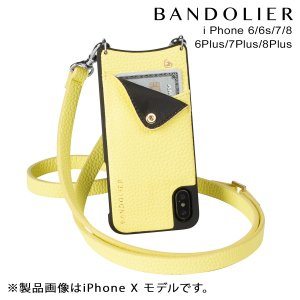 BANDOLIER バンドリヤー iPhone8 iPhone7 7Plus 6s ケース スマホ アイフォン プラス CARLY YELLOW レザー メンズ レディース [2/14 新入荷]|sneak