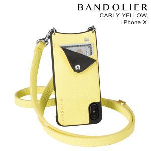 BANDOLIER バンドリヤー iPhoneX ケース スマホ アイフォン CARLY YELLOW レザー メンズ レディース [2/14 新入荷]|sneak