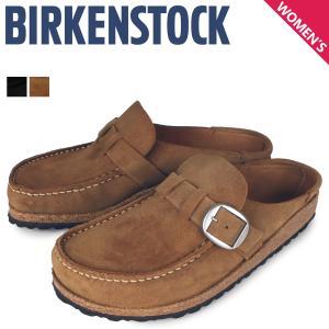 ビルケンシュトック BIRKENSTOCK サンダル レディース バックリー BUCKLEY ブラック ブラウン 黒 1017826|sneak