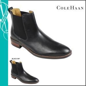 コールハーン Cole Haan レノックス ヒル チェルシー ブーツ LENOX HILL CHELSEA Mワイズ レザー メンズ サイドゴア 防水 C13106 ブラック sneak
