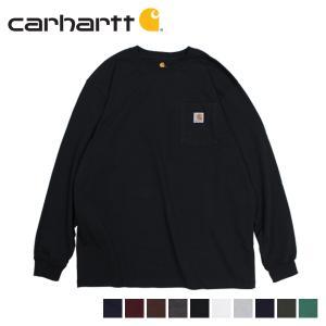 カーハート carhartt Tシャツ メンズ 長袖 ロンT WORKER POCKET LS T-SHIRTS K126 sneak