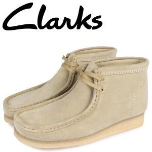 クラークス Clarks ワラビーブーツ メンズ WALLABEE BOOT ベージュ 26155516 sneak