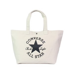 コンバース CONVERSE オールスター バッグ トートバッグ メンズ レディース ALL STAR TOTE BAG ブラック オフ ホワイト 黒 C1957071