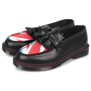 ドクターマーチン Dr.Martens ローファー タッセル メンズ レディース ADRIAN SMOOTH TASSLE LOAFER コラボ ブラック 黒 R25270001 予約商品 9/13 新入荷 sneak