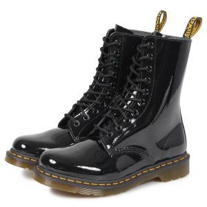 ドクターマーチン Dr.Martens 10ホール 1490 W ブーツ メンズ レディース PATENT LAMPER 10EYE BOOT ブラック 黒 R25277001 9/13 新入荷 sneak
