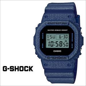 カシオ CASIO G-SHOCK 腕時計 DW-5600DE-2JF ジーショック Gショック G-ショック デニム ブルー メンズ レディース|sneak