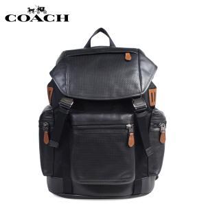 コーチ COACH バッグ リュック メンズ リュックサック バックパック デイバック F57477 ブラック|sneak