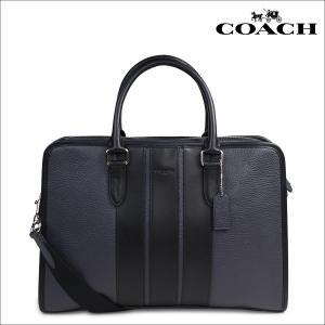 コーチ COACH バッグ メンズ ビジネスバッグ ブリーフケース F72308 2WAY ダークブルー ブラック|sneak