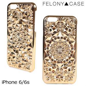 フェロニーケース Felony Case iPhone6 6s ケース スマホ iPhoneケース アイフォン アイフォーン レディース ゴールド sneak