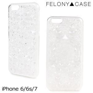フェロニーケース Felony Case iPhone7 6 6s ケース スマホ iPhoneケース アイフォン アイフォーン レディース クリア sneak