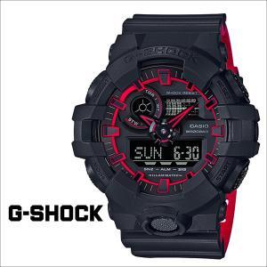 カシオ CASIO G-SHOCK 腕時計 GA-700SE-1A4JF ジーショック Gショック G-ショック ブラック メンズ レディース 9/13 新入荷|sneak