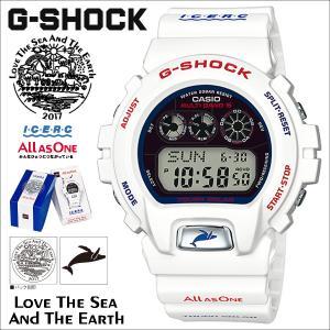 カシオ CASIO G-SHOCK イルカ クジラ 2017 腕時計 GW-6901K-7JR ジーショック Gショック G-ショック ホワイト イルクジ コラボ メンズ|sneak