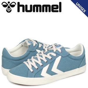 ヒュンメル hummel デュース コート スニーカー メンズ レディース DEUCE COURT ブルー HM206425-7487 予約商品 10/15 新入荷 sneak