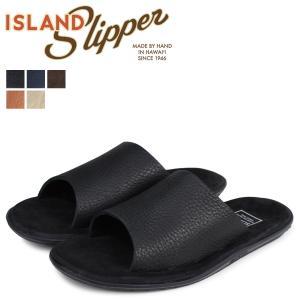 アイランドスリッパ ISLAND SLIPPER サンダル メンズ スエード BULL HIDE SLIDE PBS705BH PTS705BH|sneak