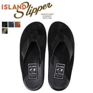 アイランドスリッパ ISLAND SLIPPER サンダル トングサンダル メンズ スエード レザー LEATHER SUEDE PB205 PT205|sneak