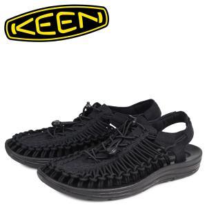 キーン KEEN ユニーク サンダル スポーツサンダル メンズ UNEEK ブラック 黒 1014097 [1/22 追加入荷]|sneak