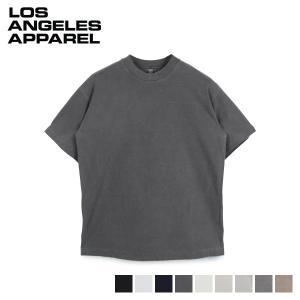 LOS ANGELES APPAREL ロサンゼルスアパレル Tシャツ 6.5オンス 半袖 無地 6.5 OZ SS GARMENT DYE CREW NECK T-SHIRT 1801GD sneak