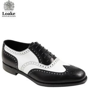 【英国王室御用達ブランド「Loake」登場!!】 ・伝統的なブローグシューズを大胆なパンチングでリフ...