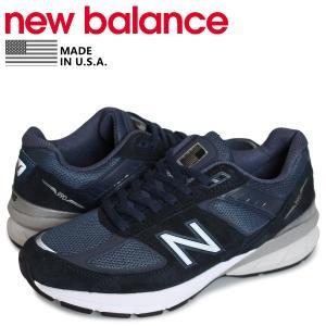ニューバランス new balance 990 スニーカー メンズ Dワイズ MADE IN USA ネイビー M990NV5 [4/14 追加入荷]|sneak