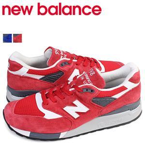 ニューバランス 998 メンズ new balance スニーカー M998CRD M998CBU Dワイズ 靴 レッド|sneak