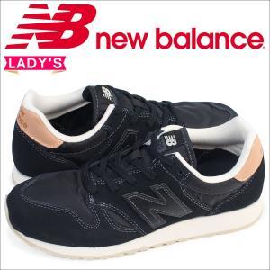 ニューバランス 520 レディース new balance スニーカー WL520BK Bワイズ 靴 ブラック|sneak