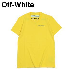 Off-white オフホワイト Tシャツ 半袖 レディース メンズ LOGO T-SHIRTS イエロー OWAA049 B07034 sneak