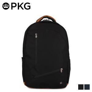 PKG ピーケージー バッグ リュック バックパック メンズ レディース 25L DURHAM ブラック ネイビー 黒 V2