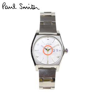 ポールスミス 時計 メンズ Paul Smith 腕時計 40mm WATCH PS108 03844 シルバー 防水|sneak