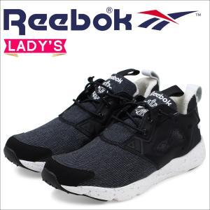 Reebok リーボック フューリーライト スニーカー レディース FURYLITE WINTER AQ9920 靴 ブラック 10/14 新入荷