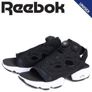 リーボック Reebok インスタ ポンプフューリー サンダル スポーツサンダル メンズ レディース INSTAPUMP FURY SANDAL ブラック DV9699 [2/28 追加入荷]|sneak